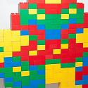 Pixel-Perfect Samus-sprite in Duplo